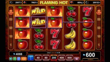 flaming hot screenschot