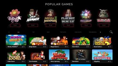 Bet on Aces Casino screenshot (3)