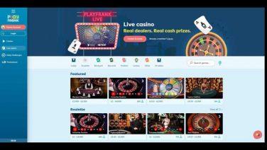 playfrank casino screenshot (3)