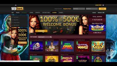 18bet casino screenshot (1)