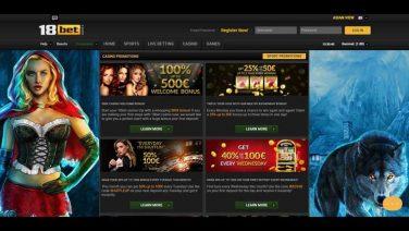 18bet casino screenshot (3)