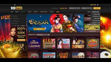 18bet casino screenshot (4)