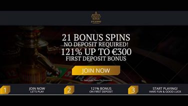 21Casino Welcome Offer ROW