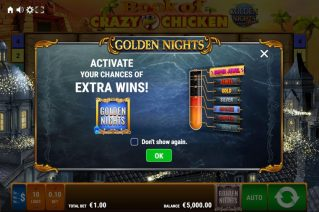Book of Crazy Chicken Golden Nights screenshot (1)