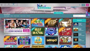 Karamba Casino screenshot (3)
