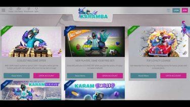 Karamba Casino screenshot (4)