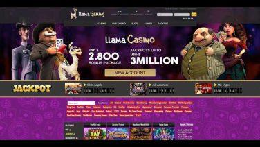 Llama Gaming Casino screenshot (1)