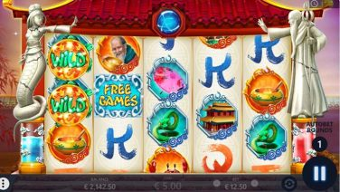 Explore the mysteries of Asian culture with this oriental mythology themed online video slot by Pariplay. Bai She Zhuan has 25 paylines across 5 reels and 3 rows and is packed with bonus features, all based on the love story between Bai Suzhen's and Fa Hai. Win up to 20 Free Spins and take advantage of the two types of wilds as well as 2 specially tailored bonus features, one for each character. With a minimum wager of €0.25 and an RTP of 93.89% alongside with many exciting bonus features, this online slot has all the attributes to provide with an exciting experience. Bai She Zuan Game Features Bai Suzhen's Snake Wild – substitutes for any other symbol except for the Free Games and Bonus. It will also randomly expand with up to 3 additional positions around it, also at random. Fa Hai's Turtle Wild – also substitutes for all other symbols except for the Free Spins and Bonus. It will randomly expand one spot around it and become sticky. Bai Suzhen's Free Spins – land 3 or more Free Games symbols and up to 10 Extra Spins will be granted. The feature can be retriggered by landing the Snake Wild over reel 5. Fa Hai's Bonus Game – land 3 or more Bonus Symbols and you will get to pick a treasure chest from a pyramid of chests, inside a chest there is a multiplier of up to 27x.