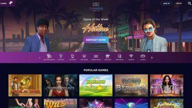 genesis casino screenshot (2)
