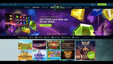 WixStars Casino screenshot (2)