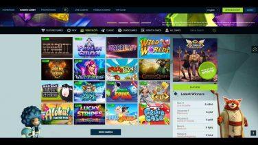 WixStars Casino screenshot (3)