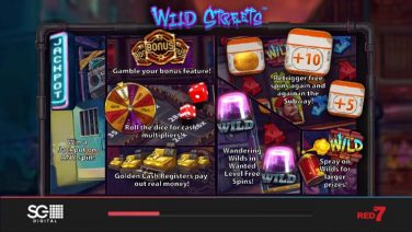 Wild Streets slot game review (2)
