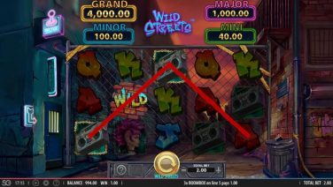 Wild Streets slot game review (3)
