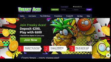 freakyaces casino screenshot (1)