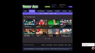 freakyaces casino screenshot (4)