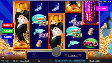 monopoly big money reel screenshot (2)