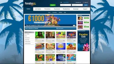 paradisewin casino screenshot (2)