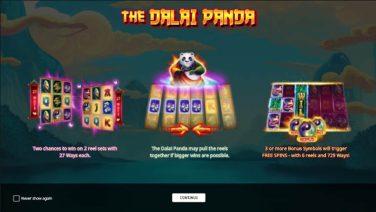 the dalai panda screensot