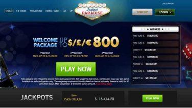 Jackpot Paradise Casino screenshot (1)