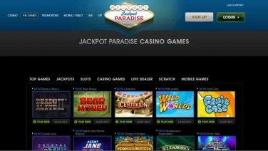 Jackpot Paradise Casino screenshot (2)