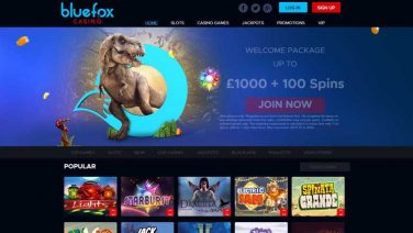 bluefox casino screenshot (1)