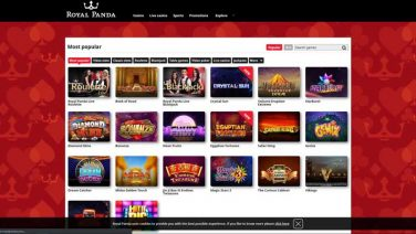 royal panda casino screenshot (2)