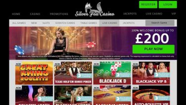 silverfox casino screenshot (4)