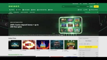 Unibet Casino screenshot (1)