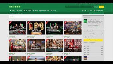 Unibet Casino screenshot (3)