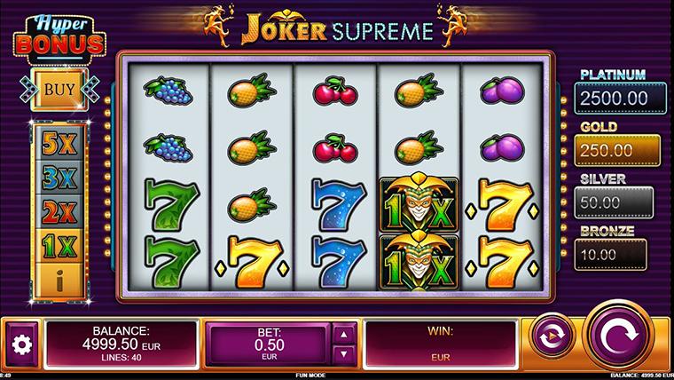 Joker Supreme RTP and Free Play For Fun