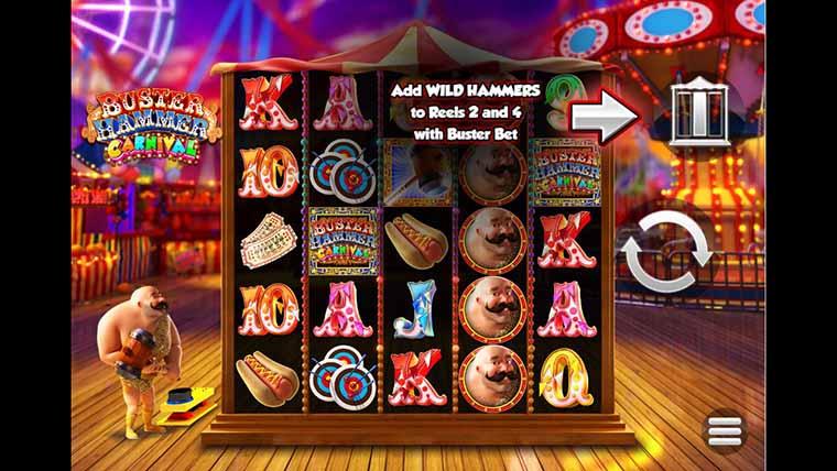 Spiele Buster Hammer Carnival - Video Slots Online