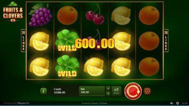 Fruits & Clovers 20 lines screenshot (2)
