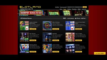 slotland casino screenshot (2)