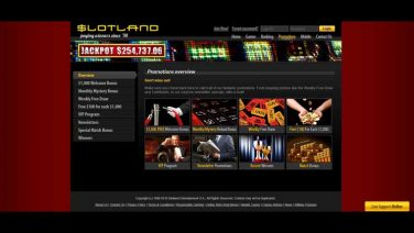 slotland casino screenshot (3)