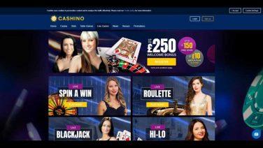 cashino casino screenshot (3)