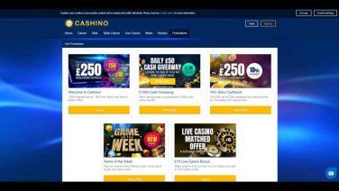 cashino casino screenshot (4)