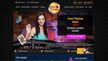 lucks casino screenshot (1)