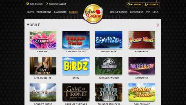 lucks casino screenshot (4)