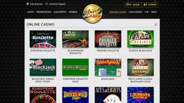 lucks casino screenshot (5)