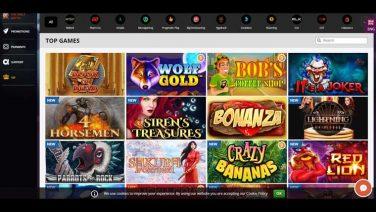 playamo casino screenshot (2)