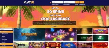 playuk casino screenshot 2
