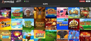 secretslots casino screenshot 2