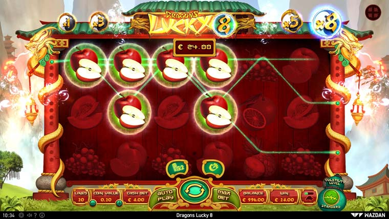 Lucky 8 Auto >> Dragons Lucky 8 Rtp And Free Play For Fun