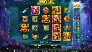 mayan wild mystery 2