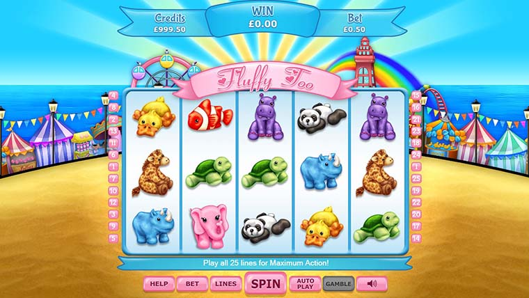 Spiele Fluffy Too Jackpot - Video Slots Online