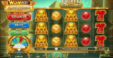 Queen of Alexandria Theme & Graphics