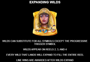 Queen of Alexandria Expanding Wilds