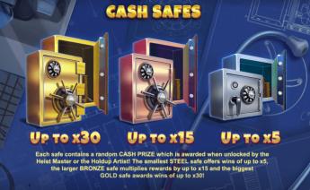 Vault Cracker Cash Safes Feature