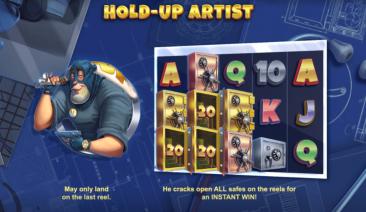 Vault Cracker Hold-Up Artist Feature