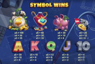 Vault Cracker Symbols
